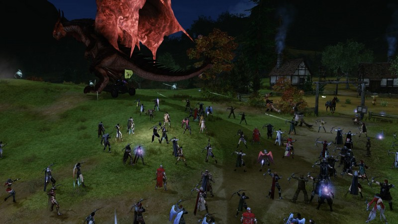 ArcheAge Dragon Battle